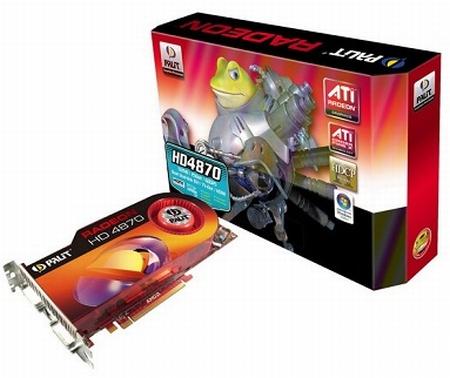 Palit Radeon HD 4870 modelini duyurdu