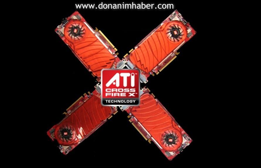 ATi'nin Quad-Crossfire teknolojisi için geri sayım başladı
