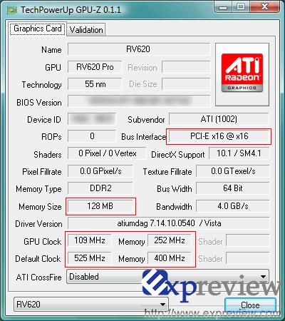 ATi RV620 hakkında yeni bilgiler