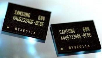 Samsung 0.6ns GDDR4 bellekler üzerinde çalışıyor