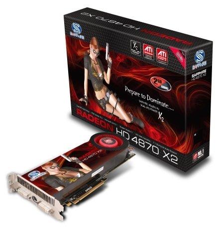 Sapphire'in çift grafik işlemcili HD 4870 X2 modeli hazır