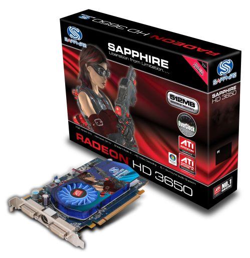 Sapphire'den hız aşırtmalı HD 3650 geliyor