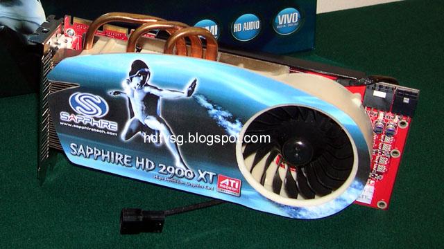 Sapphire'den bir ilk: Radeon HD 2900XT Heatpipe