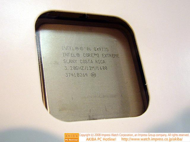 Intel'in Core 2 Extreme QX9775 işlemcisi yaygınlaşıyor