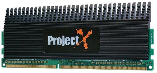 Super Talent 2GHz'de çalışan Project X DDR3 bellek kitini duyurdu