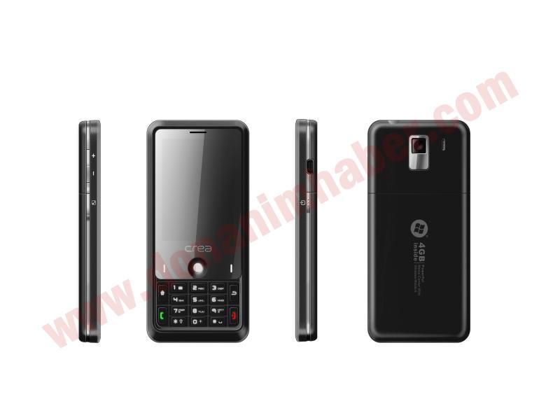 Crea'dan Windows Mobile 6 tabanlı yeni akıllı telefon