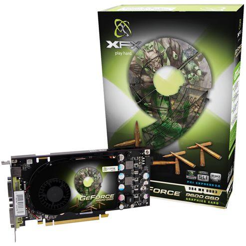 XFX'den fabrika çıkışı hız aşırtmılmış GeForce 9600GSO geliyor