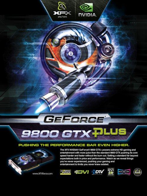 XFX'in GeForce 9800GTX Plus modeli hazır