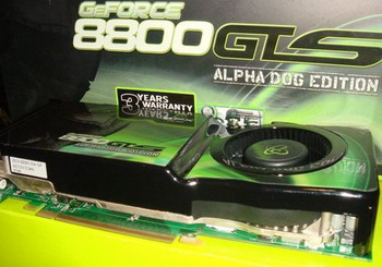 XFX'den GeForce 8800GTS 512MB Alpha Dog Edition