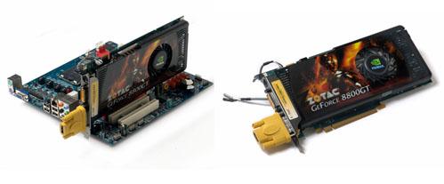 ZOTAC'dan HDMI destekli GeForce 8800GT'ler