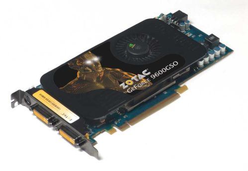 ZOTAC GeForce 9600GSO modelini duyurdu