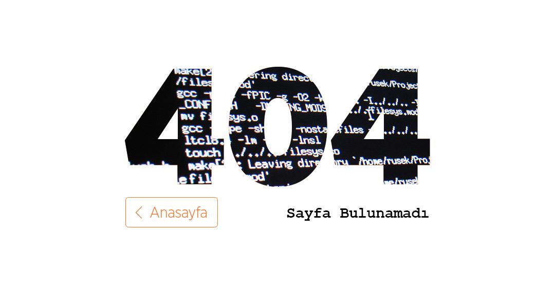 Hata: 404 - Sayfa Bulunamadı